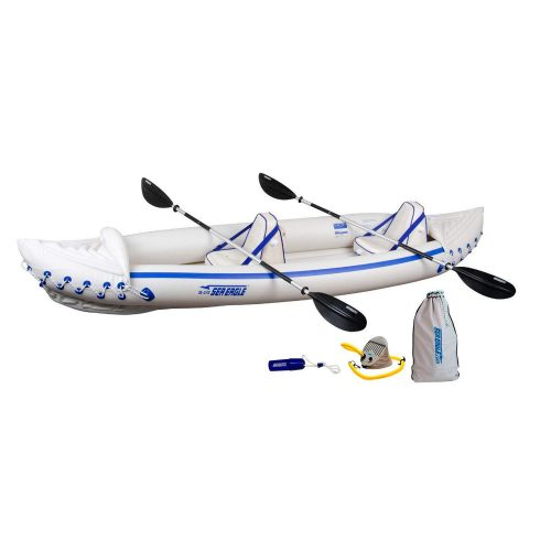 Sea Eagle SE370 Inflatable Sports Kayak Pro Package