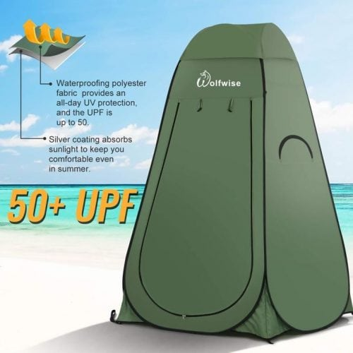 WolfWise Easy Pop Up Shower Tent