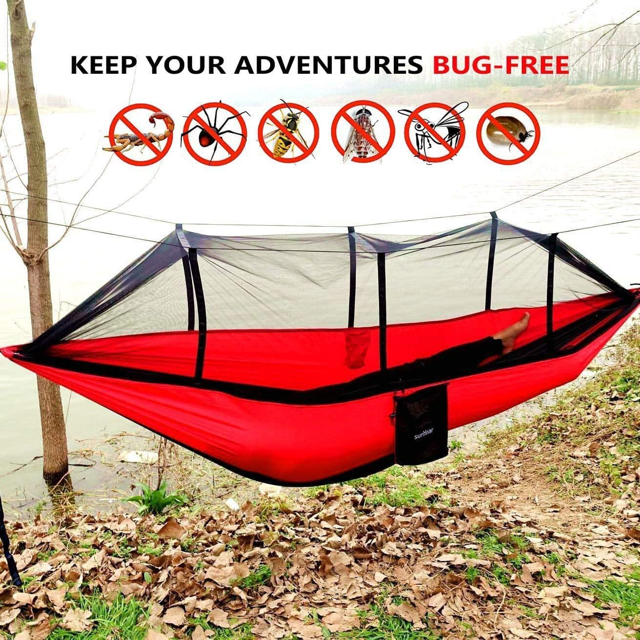 The 5 Best Hammocks With Mosquito Nets