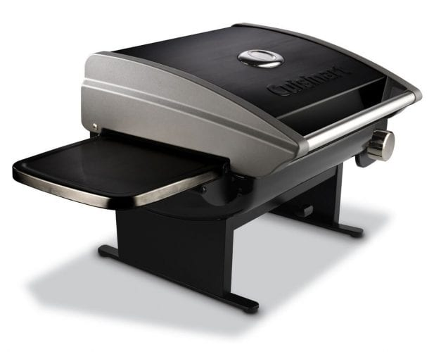 Cuisinart CGG-200B Portable Tabletop Camping Propane Gas Grill