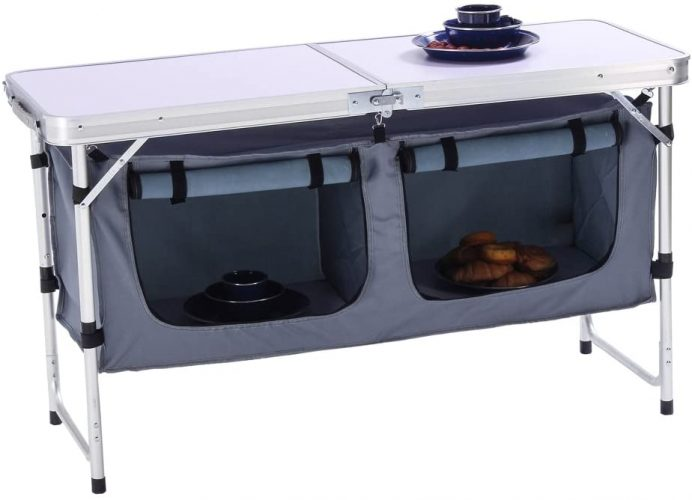 CampLand Outdoor Folding Camping Table