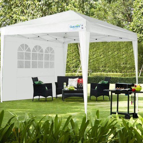Quictent Silvox 10x10 EZ Pop Up Camping Canopy