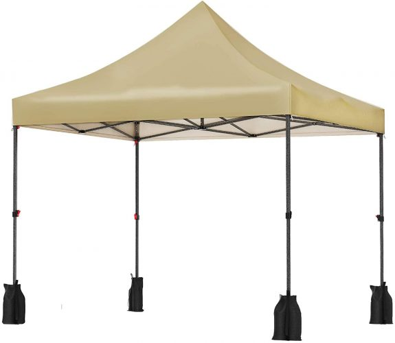 SONGMICS Pop Up Canopy Tent 10 x 10 Feet