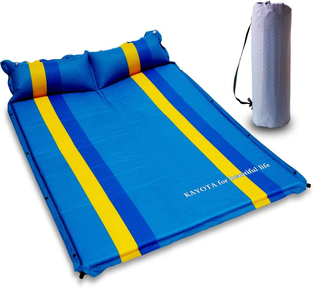 KAYOTA Lightweight Self Inflating Sleeping Pad with Pillow