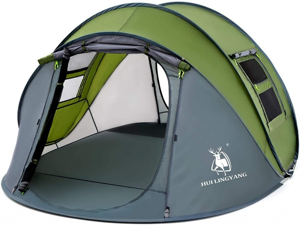 HUI LINGYANG 4 Person Easy Pop Up Tent