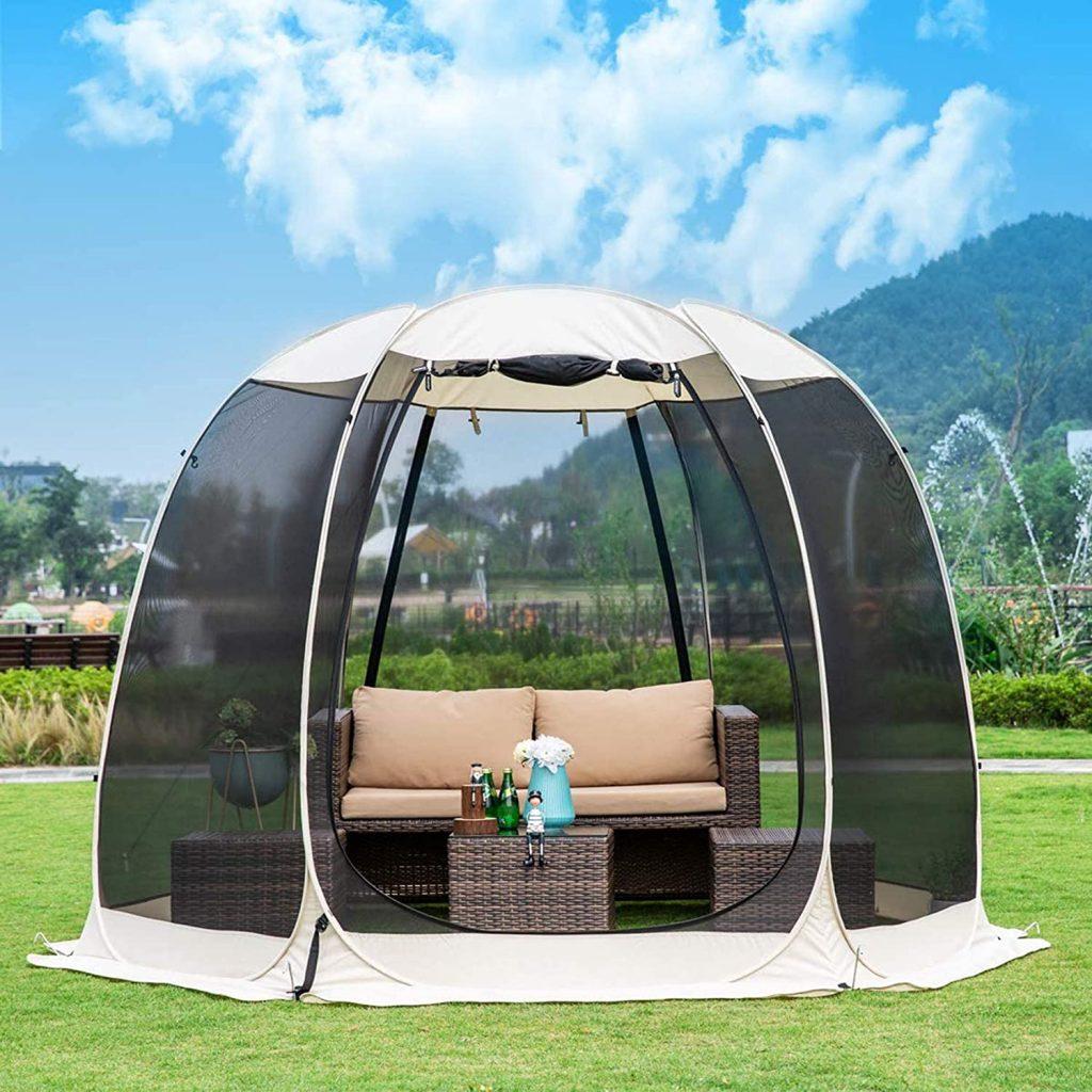 Leedor Gazebos 4-6 Person Canopy Camping Tent