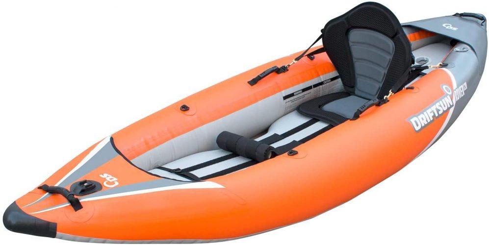 Driftsun Rover 120-220 Inflatable Tandem White-Water Kayak