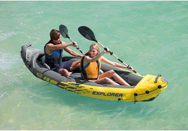 Intex Explorer K2 Kayak, 2-Person Inflatable Kayak