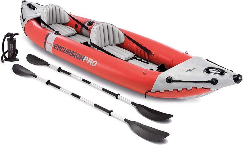 Intex Excursion Pro Kayak, Professional Series Inflatable Fishing Kayak