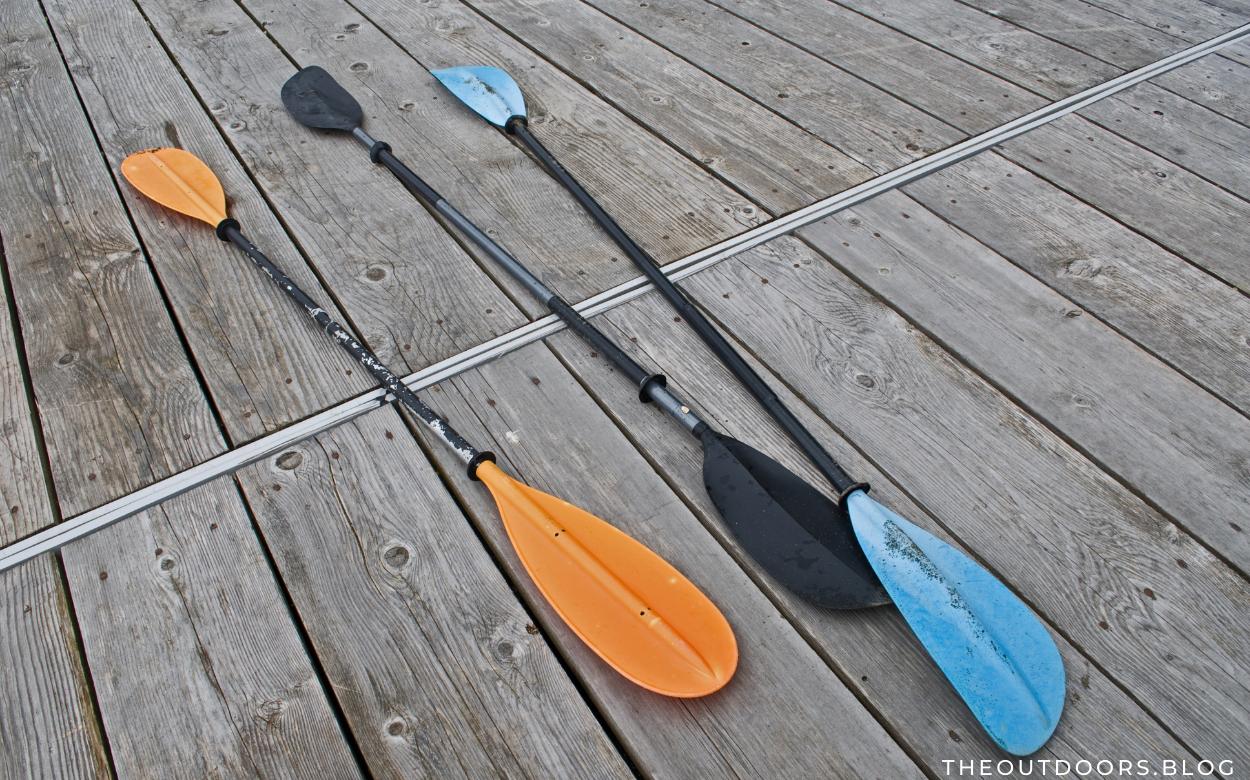Correct Paddle Length for a Kayak