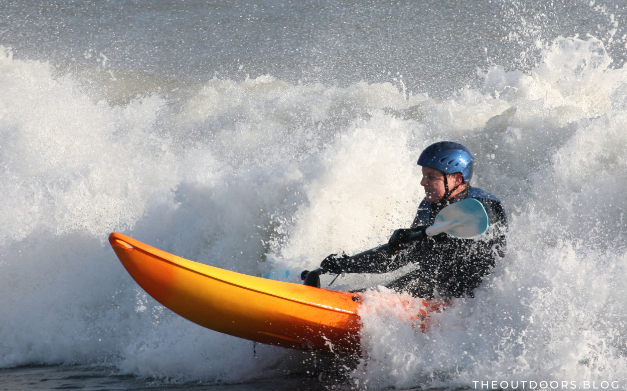 How to Launch an Inflatable Kayak in Heavy Surf